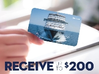 Holland america line gift card
